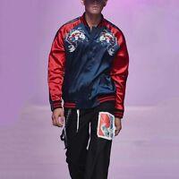 New Mens Womens Unisex Sukajan Premium Embroidered Yokosuka Bomber Jacket Coat
