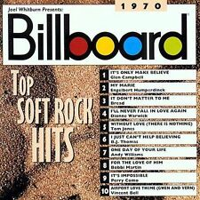 Billboard Top Soft Rock Hits: 1970 by Various Artists (CD, Apr-1997, Rhino (Labe