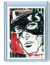 2008 INKWORKS THE SPIRIT #SK6 DAN COOLEY SKETCH CARD ARTIST