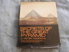 Secrets Great Pyramid Peter Tompkins 1971 HC