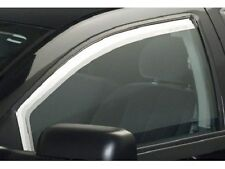 Chrome Trim Window Visors - Fits Chevy Cruze 2011 2012 2013 2014 2PC.