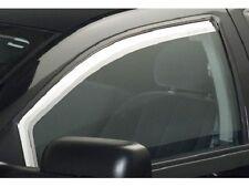 Chrome Trim Window Visors - Fits Chevy Cruze 2011 2012 2013 2014 2PC.