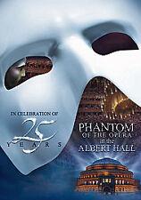 PHANTOM OF THE OPERA AT THE ROYAL ALBERT HALL DVD MUSICAL 25TH ANNIVERSARY NEW