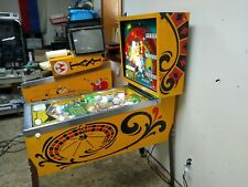 New ListingNice! 1973 Bally Monte Carlo pinball machine fully shopped working-Free Shipping
