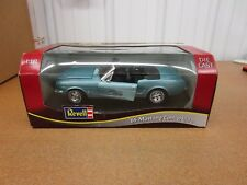 1/18 diecast 1965 Ford Mustang convertible teal Revell 30th anniversary