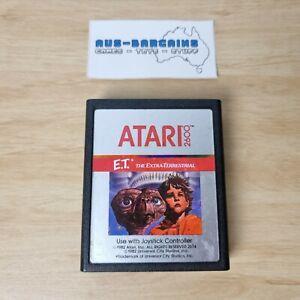 Atari 2600 E.T. The Extra-Terrestrial - PAL - Vintage Retro 1982 silver label ET