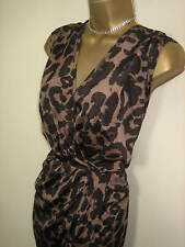 Animal Print Evening Party Dress By Glamorous - Size 8 - Ex Cond