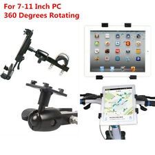 Motorcycle GPS Holder 7-11 Inch Tablet PC Mount Support 360-Degrees Rotating