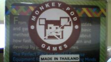 """Monkey Pod Games """" The Magic Drawers """" real wood / great gift ! / brain teaser"""