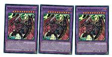 3 x Schicksalsenddrache DESO-DE013, 1. Auflage, Super Rare, Boosterfrisch