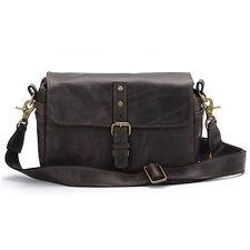 ONA Bowery Shoulder Bag - Dark Truffle Leather
