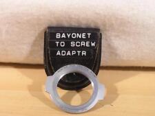 Original Yashica Pentamatic Camera Body to M42 Praktica (Pentax) Screw Lenses