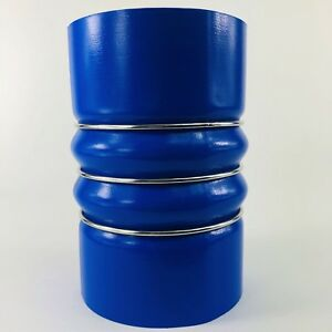 """1020-001 CHARGE AIR HOSE 4""""X 6"""" BLUE COOL SIDE, OEM  CSB40 FREIGHTLINER"""