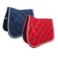 Jumping Event Square Saddle Pads Quilted Cotton Square English Saddle Pad