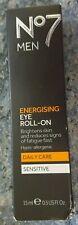 No7 For Men Energising Eye Roll-On Daily Care Sensitive - 15ml