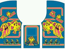 Ms pac man side art and kickplate