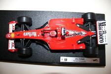 1/18 F1 FERRARI F2002 M. SCHUMACHER WORLD CHAMPION ex HOT WHEELS RACING