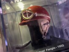 Helmet Collection Juan Manuel Fangio 1952 Argentina Rare Scale 1:5 New +Magazine