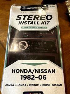 Scosche UI3050A Stereo Install Kit  1982 -06 Acura Honda Infiniti Isuzu Nissan