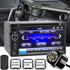 For TOYOTA RAV4 Corolla Camry 2Din Stereo Radio Car DVD CD Player HD Rear Camera
