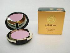 EI SOLUTIONS Pure Grace Soft Blush Mirrored Compact with Brush  * Angel Violet *