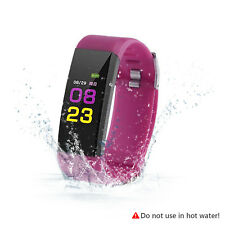 Smartwatch Impermeable Reloj inteligente Fitness Tracker IP67 Android IOS iphone