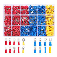 New Listing1200pcs Assorted Crimp Terminal Insulated Electrical Wire Connector Spade Kit