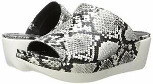Kenneth Cole New York Women's Pepea Slide Sandal, Black/White, Size 7.0 FmWU