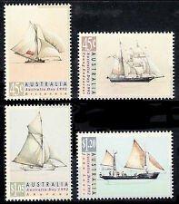 Australia Day 1992 -  Sailing Ships; Fresh set of 4, MNH        • FREE POSTAGE •
