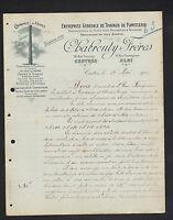 """CASTRES (81) CHEMINEES D'USINE & FOURS de BOULANGER """"CHABROUTY Freres"""" en 1922"""