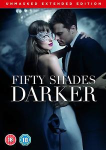 Fifty Shades Darker Unmasked Edition [DVD] [2017]