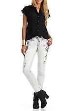 $198 NWT Etienne Marcel Destroyed Distressed Boyfriend Embroidered Jeans,sz 27