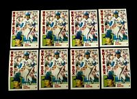 Lot of 8 1984 O-Pee-Chee baseball cards of Tom Seaver #261 NM+ condition