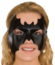Black Bat Batgirl Mask Masquerade Venetian Half Eye Mardi Gras Costume Accessory