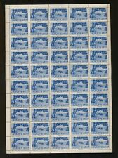"Greece. 2000 Drachmai 1944 LANDSCAPES "" KERKYRA ISLAND "", Sheet of 50 MNH stamps"