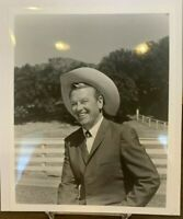 Rex Allen 8 x 10 Glossy Photo ~ The Arizona Cowboy ~ Western Singer Actor