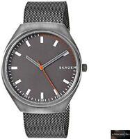 Skagen Gents Grenen Titanium Bracelet Grey Dial SKW6387 Mens Watch