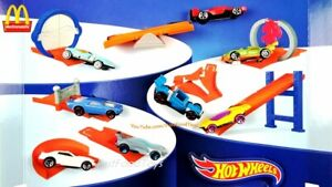 2019 McDONALD'S Hot Wheels Barbie HAPPY MEAL TOYS Choose character Complete Set