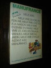 CATALOGUE MANUFRANCE 1978 - c