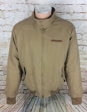 Vintage Ralph Lauren Polo Jeans Company Padded Harrington Jacket Beige Sz Large