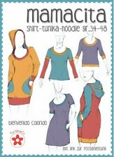 Schnittmuster Mamacita Shirt Tunika Hoodie Gr. 34 bis 48