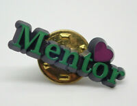 Mentor Heart Vintage Lapel Pin
