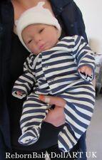 Newborn Reborn Baby BOY Doll AWAKE ... #RebornBabyDollArtUK