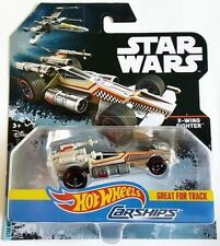 NEW 2017 HOT WHEELS CARSHIPS STAR WARS X-WING FIGHTER FREE SHIPPING
