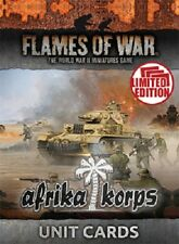 Flames of War - German: Afrika Korps Unit Cards FW242U