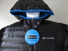 COLUMBIA Mens Flash Forward Down Hooded Jacket-650 Fill Power Down Insulation XL