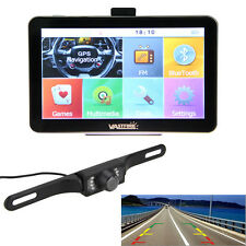 "7"" AUTO GPS Bluetooth Navigationsgeräte 4GB+7 LEDs Night Vision Rückfahrkamera"