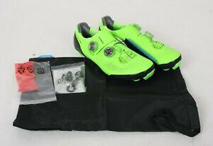 Shimano SH-XC9 S-PHYRE Cycling Shoe - Green-Men's, 40.0 /53979/