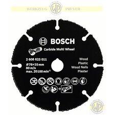 BOSCH HM-Trennscheibe 76mm x 1,0mm Hartmetall Carbide Multi Wheel f. GWS 10,8 V