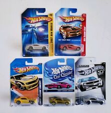 Hot Wheels Chevy Camaro Concept Lot of 5